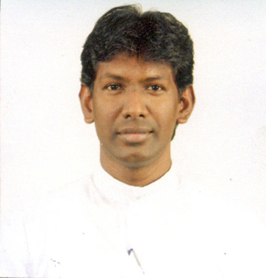 Rev. Fr. Lakpriya Kumar Nonis The Parish Priest St. Anthony's Church Weliveriya and St. Therese's Church Nakandapola